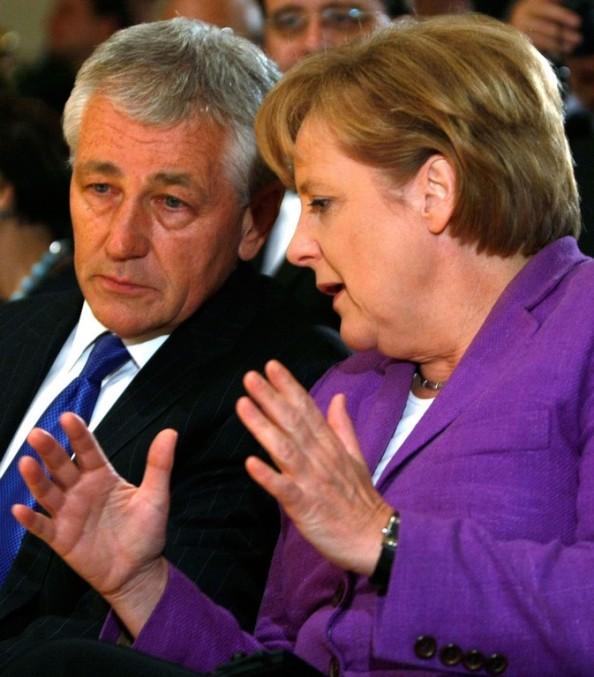 German Chancellor Angela Merkel Receives Eric M. Warburg Award
