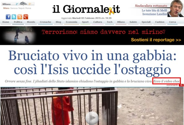 isis giornale