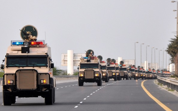 Le truppe saudite entrano in Bahrain a   difesa della monarchia
