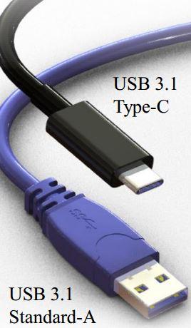 La nuova USB Type-C confrontata con una 3.1