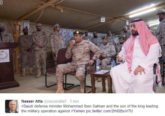 Il principe Salman guida l'offensiva
