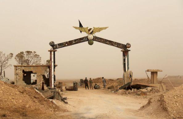 L'aeroporto di Abu Duhur nei pressi di Idlib, caduto di recente nelle mani dei ribelli (Photo credit OMAR HAJ KADOUR/AFP/Getty Images)