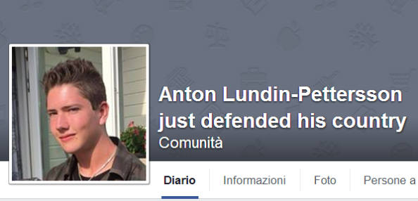Anton Lundin Pettersson fb