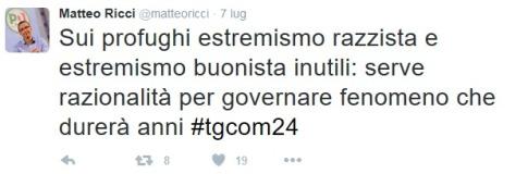 Matteo Ricci, vicepresidente del PD
