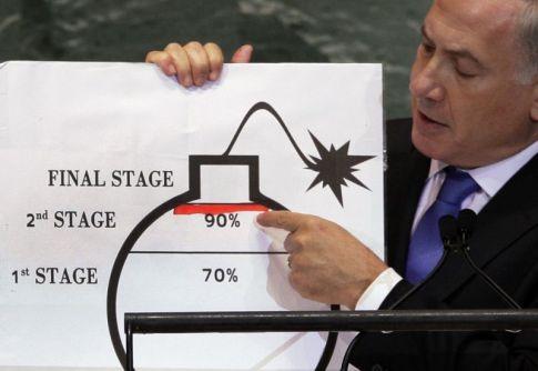 Quando Netanyahu ha fatto ridere il mondo