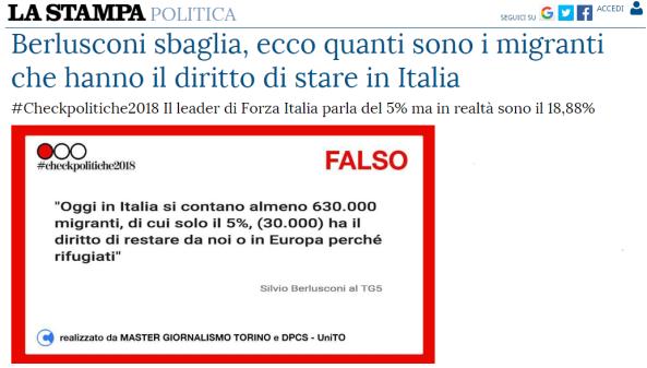 Le fakenews e le false promesse di berlusconi quanti sono for Quanti sono i senatori in italia